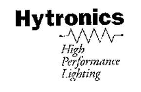 HYTRONICS HIGH PERFORMANCE LIGHTING