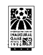 MAJOR LEAGUE SOCCER INAUGURAL GAME APRIL 6 1996 MLS MAJOR LEAGUE SOCCER
