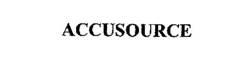 ACCUSOURCE