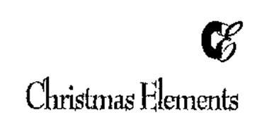 CE CHRISTMAS ELEMENTS