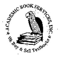 ACADEMIC BOOK SERVICES, INC. WE BUY & SELL TEXTBOOKS