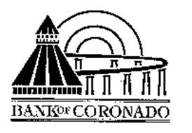 BANK OF CORONADO