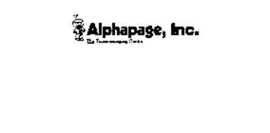 ALPHAPAGE, INC. THE TELEMESSAGING CENTRE