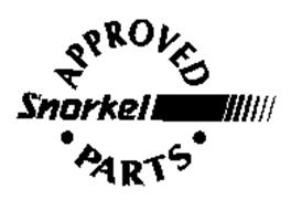 SNORKEL APPROVED PARTS
