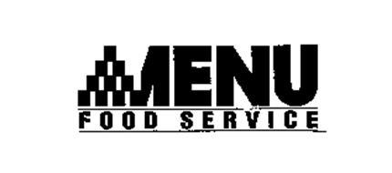 MENU FOOD SERVICE