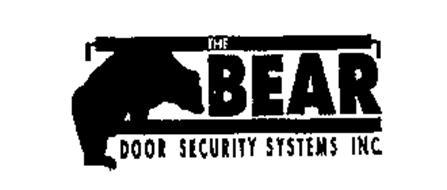 THE BEAR DOOR SECURITY SYSTEMS INC.