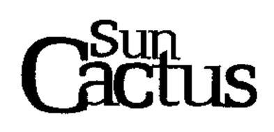 SUN CACTUS
