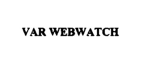 VAR WEBWATCH