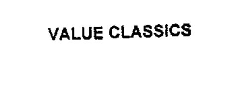 VALUE CLASSICS
