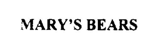 MARY'S BEARS
