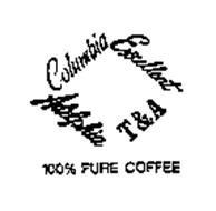 COLUMBIA EXCELLENT ADELPHIA T&A 100% PURE COFFEE