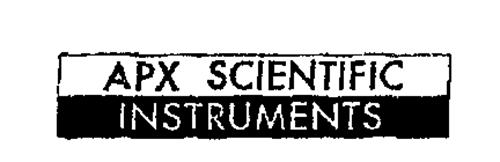 APX SCIENTIFIC INSTRUMENTS