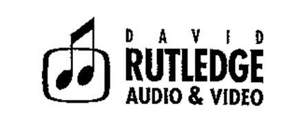 DAVID RUTLEDGE AUDIO & VIDEO