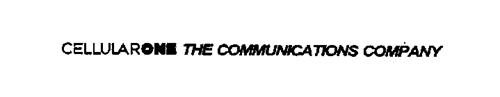 CELLULARONE THE COMMUNICATIONS COMPANY