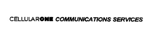 CELLULARONE COMMUNICATIONS SERVICES
