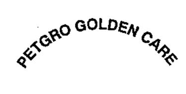 PETGRO GOLDEN CARE