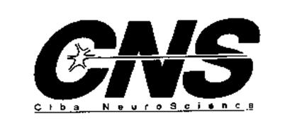 CNS CIBA NEUROSCIENCE