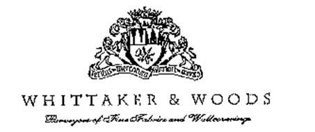 TERITUS IN MERCANTURA GLORIARI IN MERITA WHITTAKER & WOODS PURVEYORS OF FINE FABRICS AND WALLCOVERINGS
