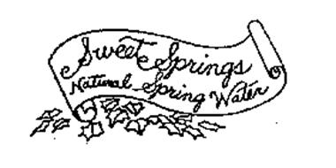 SWEET SPRINGS NATURAL SPRING WATER