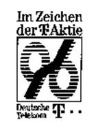 IM ZEICHEN DER-T-AKTIE 96 DEUTSCHE TELEKOM T