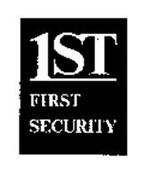 1ST FIRST SECURITY
