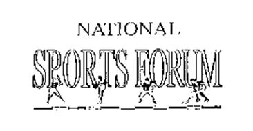 NATIONAL SPORTS FORUM