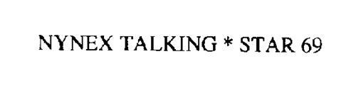 NYNEX TALKING STAR 69