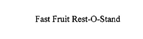 FAST FRUIT REST-O-STAND