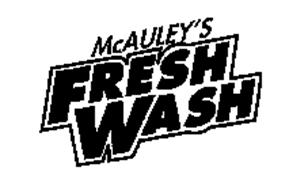 MCAULEY'S FRESH WASH