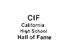 CALIFORNIA INTERSCHOLASTIC FEDERATION Trademarks (6) from
