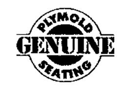 GENUINE PLYMOLD SEATING