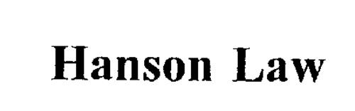 HANSON LAW