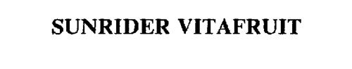 SUNRIDER VITAFRUIT