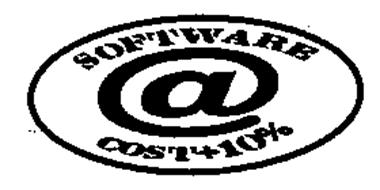 SOFTWARE @ COST + 10%