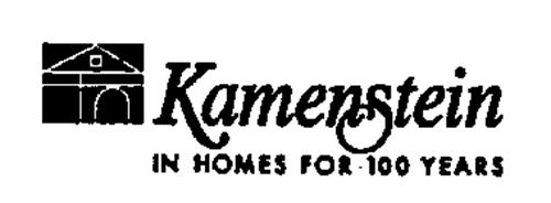 KAMENSTEIN IN HOMES FOR 100 YEARS