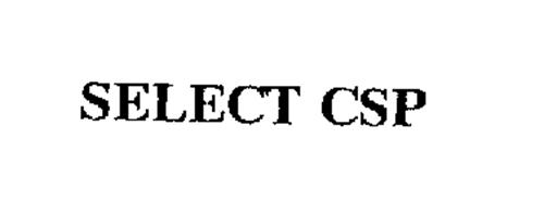 SELECT CSP