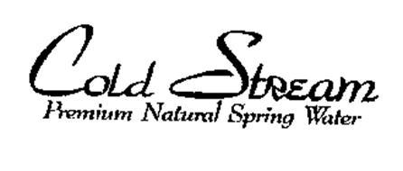 COLD STREAM PREMIUM NATURAL SPRING WATER