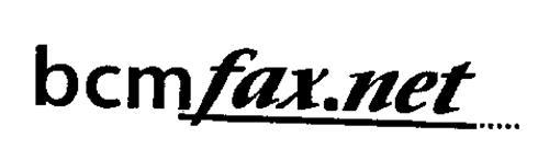 BCM FAX.NET
