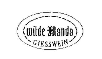 WILDE MANDA GIESSWEIN