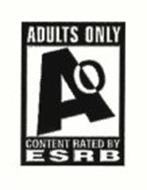 AO ADULTS ONLY CONTENT RATED BY ESRB
