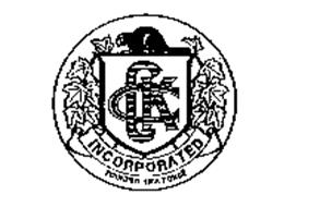 CKC INCORPORATED FOUNDED 1888 FONDE