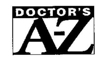 DOCTOR'S A-Z