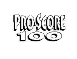 PRO-SCORE 100