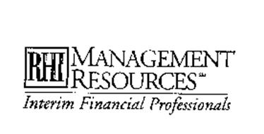 RHI MANAGEMENT RESOURCES INTERIM FINANCIAL PROFESSIONALS