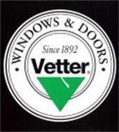 VETTER WINDOWS & PATIO DOORS 100