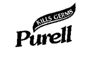 PURELL KILLS GERMS