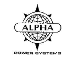 ALPHA POWER SYSTEMS