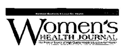 NATIONAL RESEARCH COUNCIL FOR HEALTH WOMEN'S HEALTH JOURNAL THE PREMIER SOURCE OF HIGH QUALITY HEALTH EDUCATION FOR WOMEN