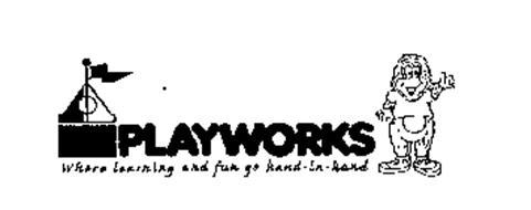 PLAYWORKS WHERE LEARNING AND FUN GO HAND-IN-HAND