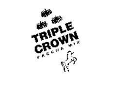 TRIPLE CROWN FESCUE MIX THE THOROUGHBRED OF TURF TYPE FESCUE MIXES